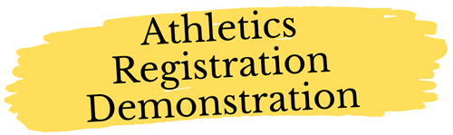Athletics Registration Demo